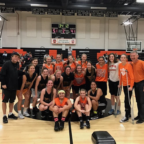 Douglas High School - Girls Varsity Basketball
