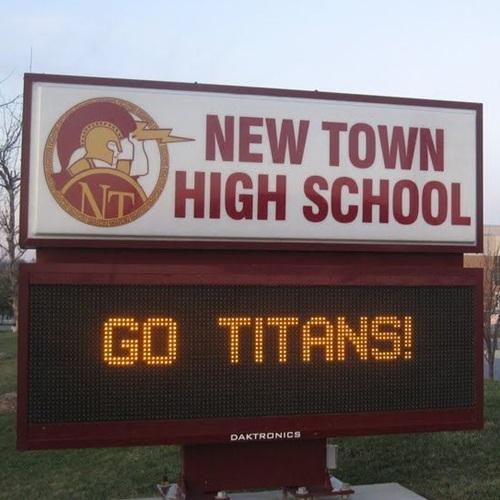 New Town High School - Girls' Varsity Basketball