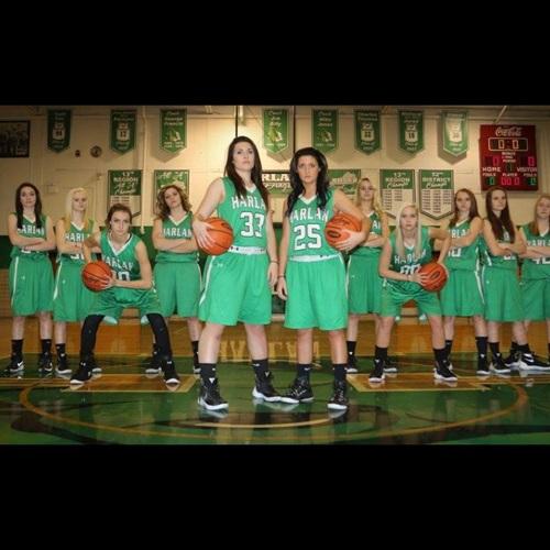 Harlan High School - Harlan Girls' Varsity Basketball