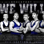 Brockport High School - Boys' Varsity Wrestling