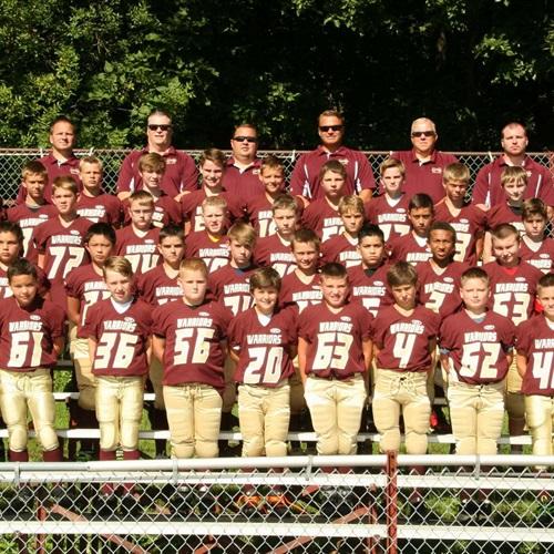 Morris Warriors Football -RVYFL - Junior Varsity