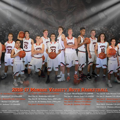 Monroe High School - Monroe Boys Basketball
