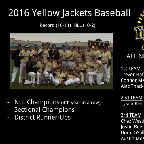 Perrysburg High School - Boys Varsity Baseball