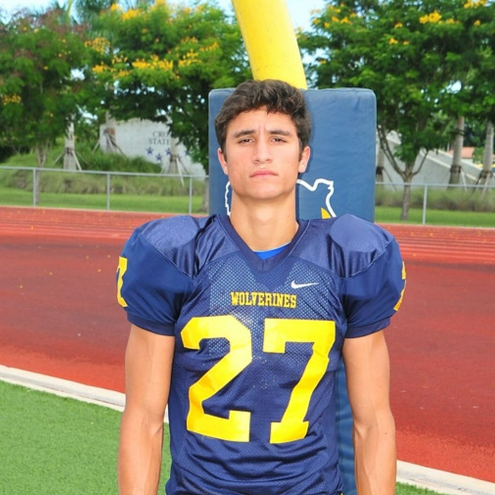 Belen Jesuit High School Vs South Fort Myers Louis Giordano Highlights
