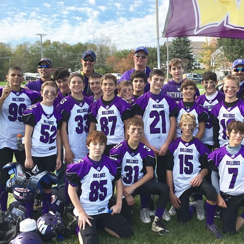 Wauconda JV - BYS Middle Football