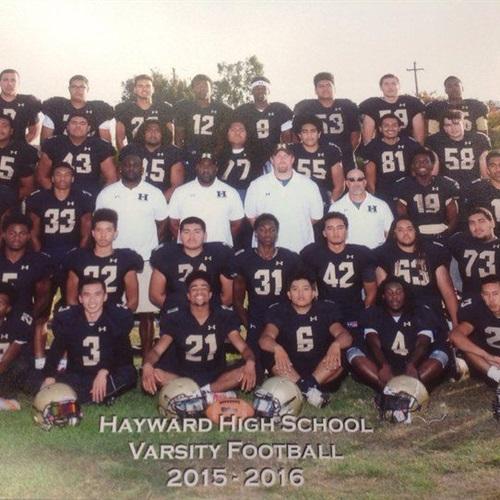 Hayward High School - Hayward Varsity Football