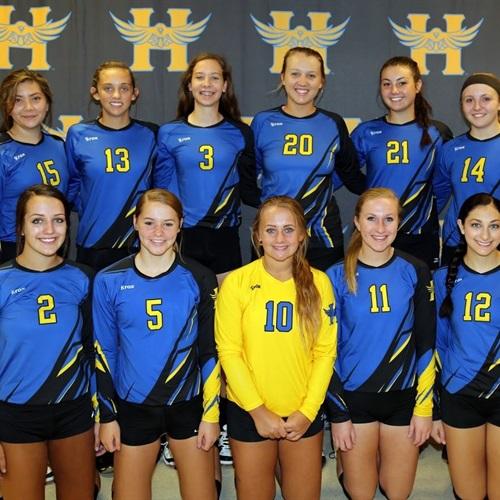 Hutchinson Public High School - Varsity Volleyball