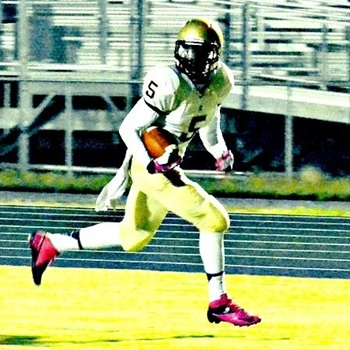 J.T. Cauthen - 2017 WR - Cuthbertson HS, Waxhaw, NC. Photo courtesy of Hudl.