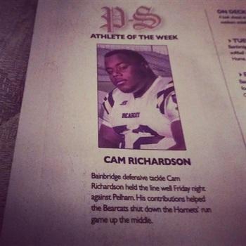 Cameron Richardson hudl