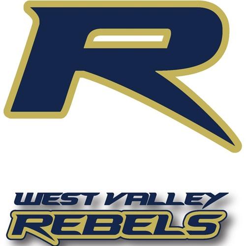 West Valley Rebels-PYFL - pee wee white