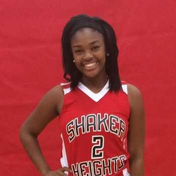 Aryanna jones shaker heights high varsity basketball shaker heights oh