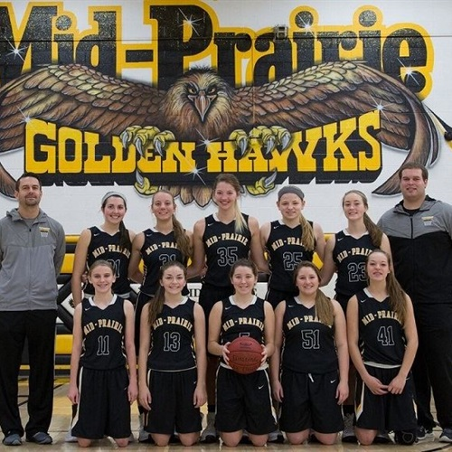 Mid-Prairie High School - Girls Varsity Basketball