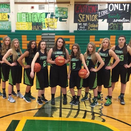 Peninsula High School - Girls' Varsity Basketball