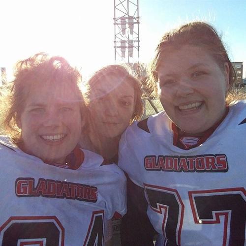 Kristiansand Gladiators - KVINNS