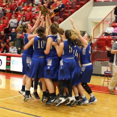 Harrisonville High School - Girls Varsity Basketball