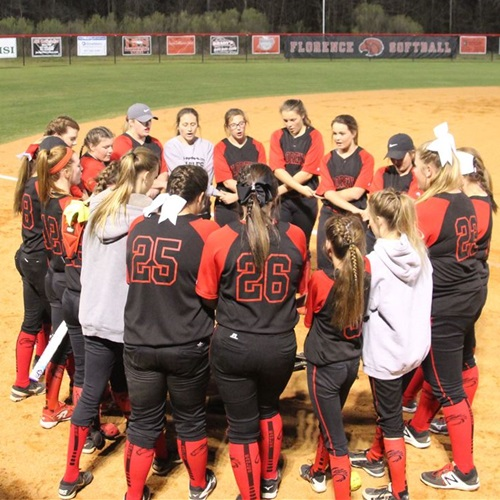 Florence High School - Lady Eagles Softball