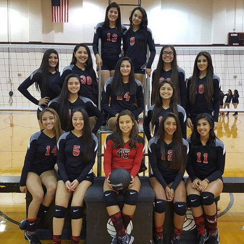 Rivera High School - Rivera Varsity Volleyball