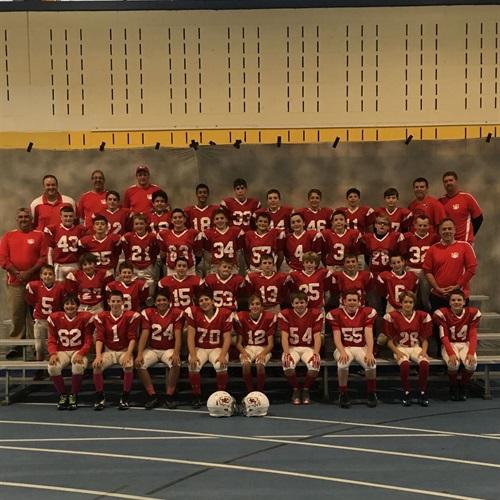 Andover Junior Football League - Chiefs - Chiefs
