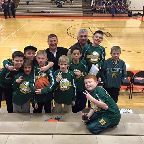 Howell junior highlanders - Highlanders 6th grade green