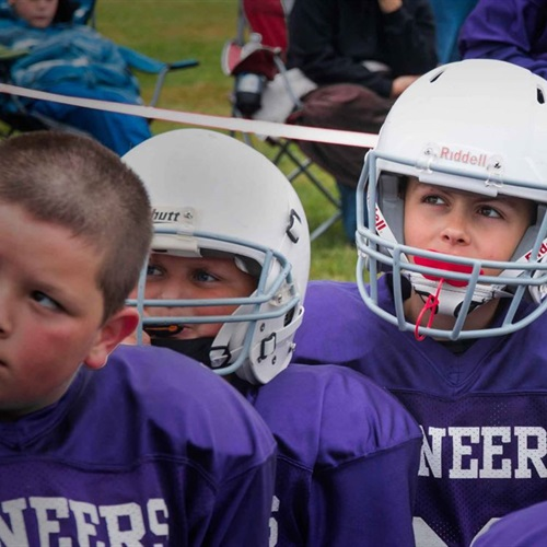 Nooksack Valley High School - Boys' Football Youth Purple