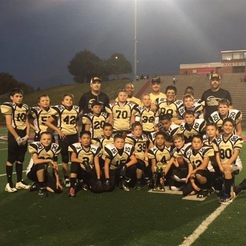 Omaha Burke Jr. Bulldogs- MYFL NE - 2016 Jr Bulldogs JV
