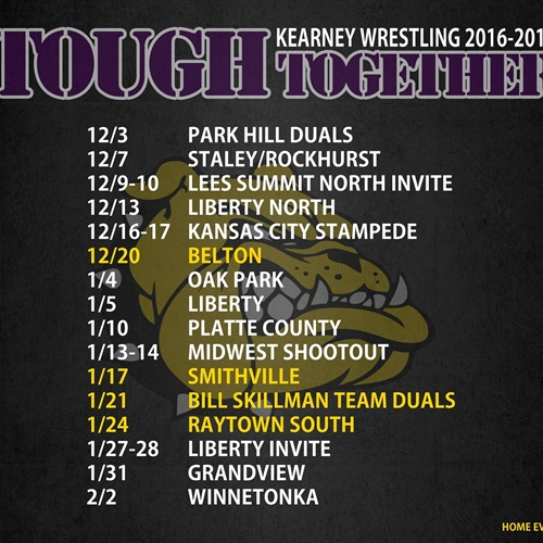 Kearney High School - KMO Wrestling