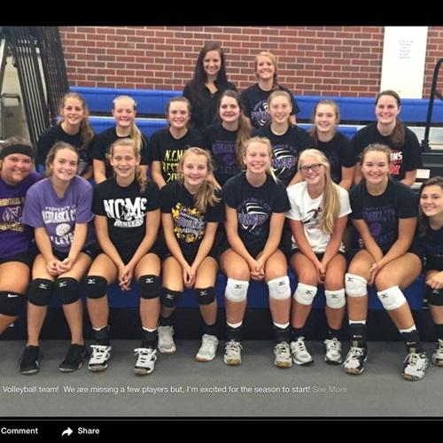 Nebraska City High School - Nebraska City Varsity Volleyball