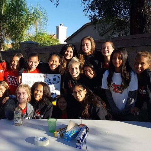 Elsinore High School - Girls' Varsity Soccer