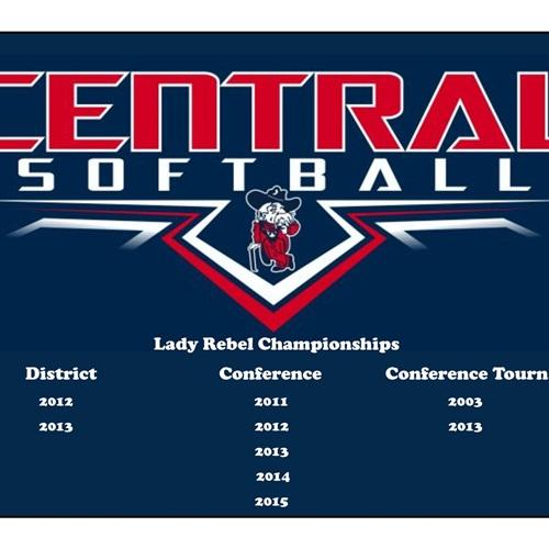 Central High School - Girls' Varsity Softball