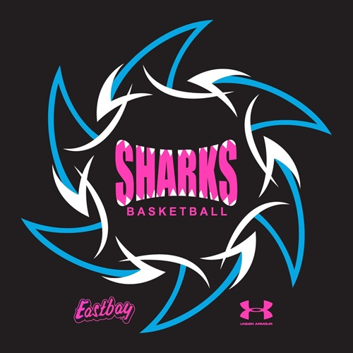 HONOLULU SHARKS BASKETBALL - SHARKS GIRLS SHIVER
