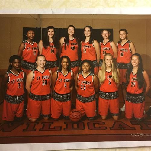 St. Lukes Episcopal High School - Girls' Varsity Basketball