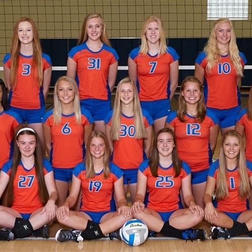 Sheyenne High School - Girls' Varsity Volleyball