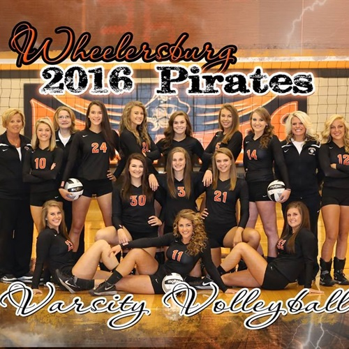 Wheelersburg High School - Girls' Varsity Volleyball
