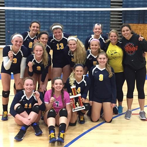 Haslett High School - Girls' Varsity Volleyball