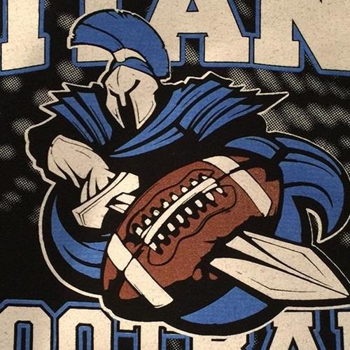 CUSHMO DESIGNS - Titans Football