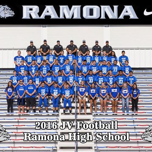 Ramona High School - JV Football