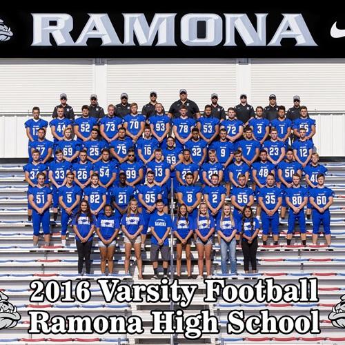 Ramona High School - Varsity Football