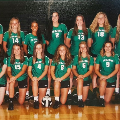 New Castle High School - Girls' Varsity Volleyball