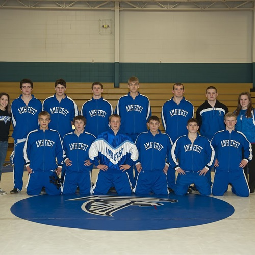 Amherst High School - Boys' Varsity Wrestling