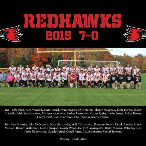 Hillsboro-Deering / Hopkinton High School - Redhawks Varsity Football