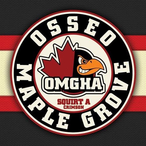 Osseo-Maple Grove Hockey Association - 2016 Squirt A Crimson