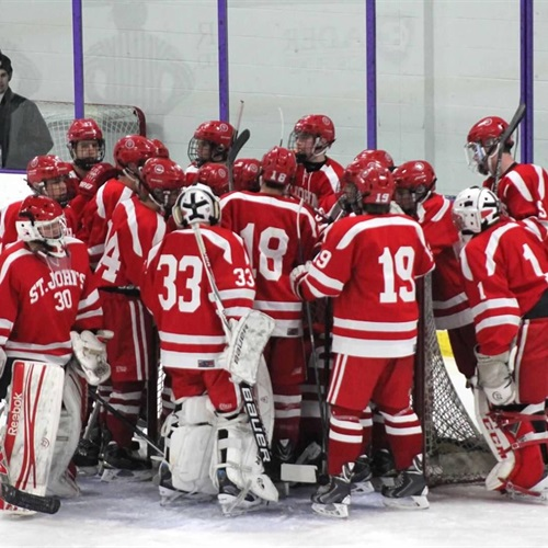 Saint John's High School - Varsity Ice Hockey