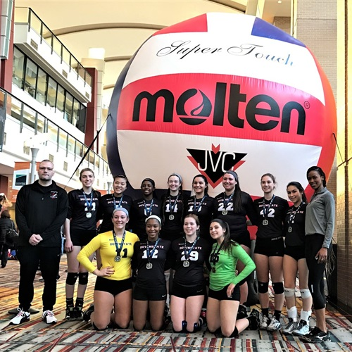 Downstate Juniors VBC - 18 Black