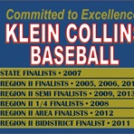 Klein Collins High School - Boys Varsity Baseball