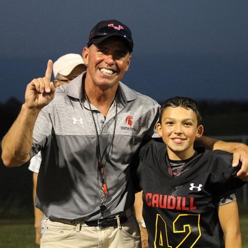 Caudill 6th Grade Football  - Caudill Spartans 6th Grade