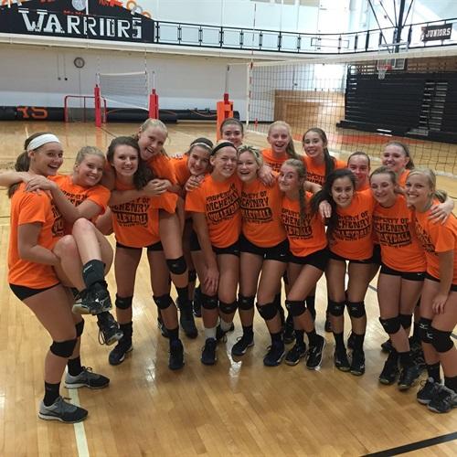 McHenry Community High School - McHenry Community Varsity Volleyball