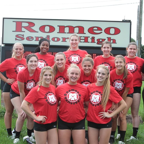 Romeo High School - Varsity Volleyball