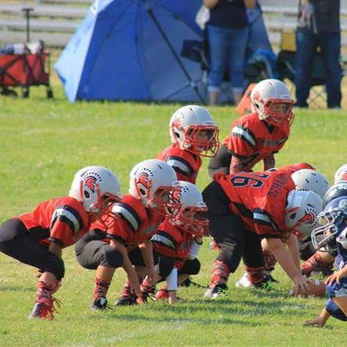Jr. Spartans Football- ISAC - Mitey Mite