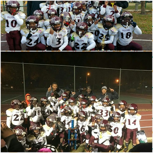 North County Falcons Youth Football - 8 Unlimited