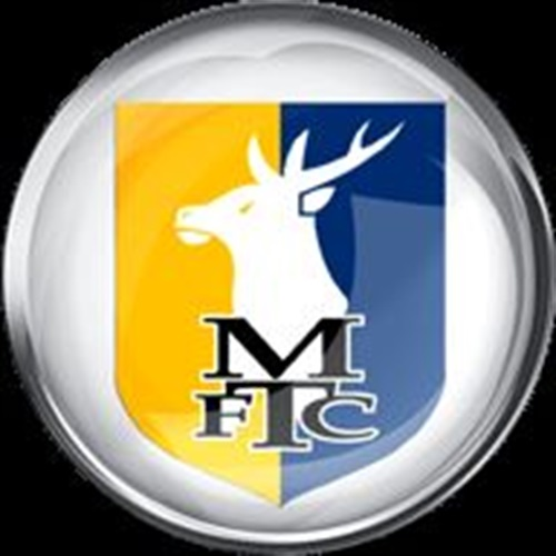Mansfield Town Football Club - Team Based Gold - Soccer